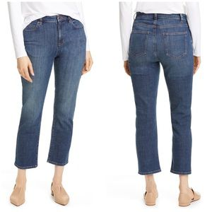EILEEN FISHER High Waist Ankle Jeans NWT 10P